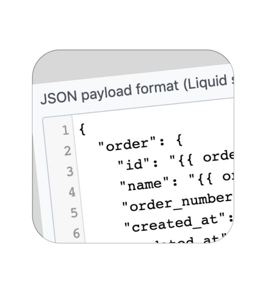 Customize JSON payload