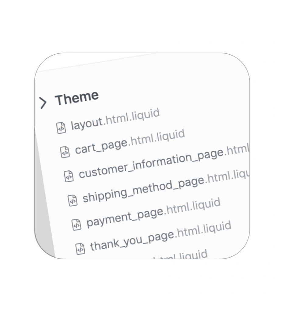 HTML Liquid templates